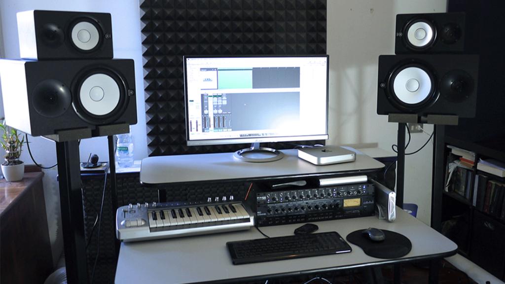 Glorious Workbench Noir Station De Travail Dj Home Studio Centralsono